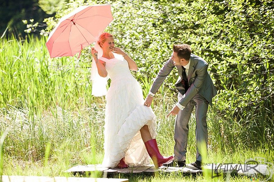 After Wedding und Trash the Dress