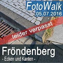 2016-07-05 Ecken und Kanten leider verpasst