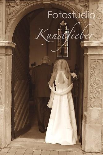 Hochzeitsbilder in Farbe und schwarz weiß