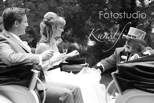 Hochzeitsreportage im Park