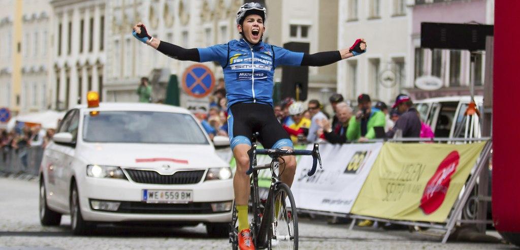 OÖ-Rundfahrt - 4 Etappe  (Gregor) | Gregor Mühlberger - Zielankunft