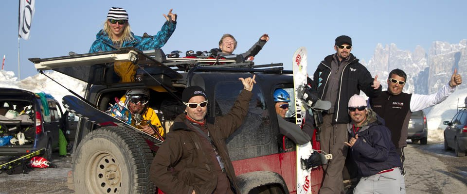 kitepixfront_05 | Cortina Snowkite Contest 2010 | CSC 2010, Dolomiten, Event, Italien, Passo Giau, Veranstaltung, Wettkampf, kite, snowkite, sport, wintersport