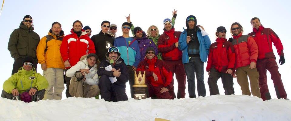 Cortina Snowkite Contest 2011 (kitepixfront_12) | 4te Ausgabe des winter closing event am Passo Giau. Am Sonntag konnte bei besten Bedingungen... | Abend, Andere Stichw