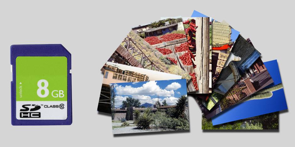 Bilder von Ihren Datenträgern