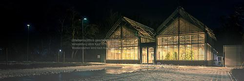 Direkt neben dem Schloß, die Uni Münster
