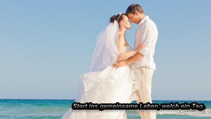 start hochzeit | Wenn man ein gemeinsames Leben begründet, das ist ein Tag da sind sie der Star. | Hochzeit
