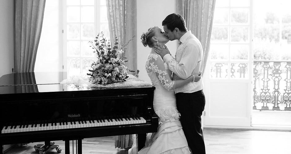 Brautpaar | Der Kuss