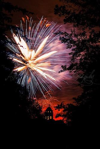 Hamburger Dom - Feuerwerk 1