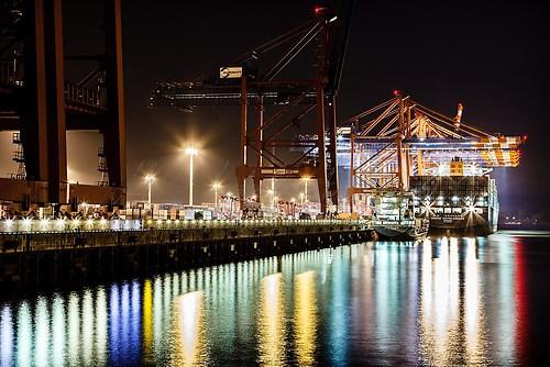 Hamburg Hafen - Burchardkai
