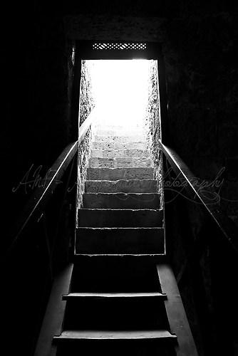 Treppe ins Nichts