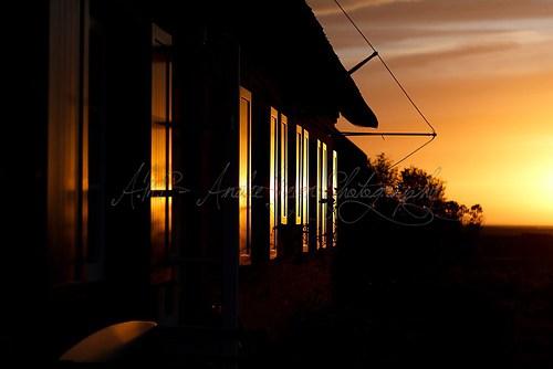 Langeness - Fensterspiegelung