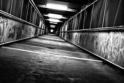 Buchholz Bahnhof - Blaue Brücke