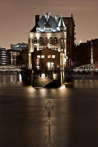 Hamburg - Speicherstadt - Kranwärterhaus