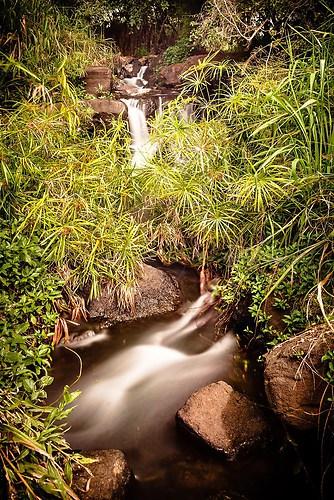 Kauai - Wasserfall