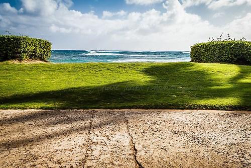 Kauai - Blick zum Pazifik