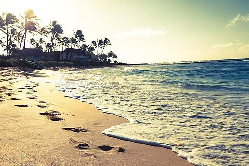 Kauai - Poipu Beach Sonnenaufgang
