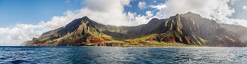 Kauai - Na Pali - Panorama 2