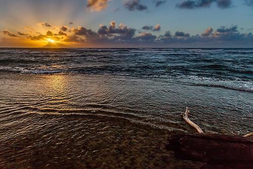 Kauai - Shipwreck Beach - Sonnenaufgang 1