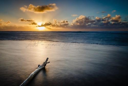 Kauai - Shipwreck Beach - Sonnenaufgang 2
