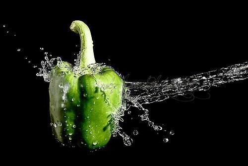 Paprika Splash - grün - 2