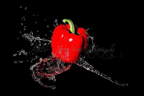 Paprika Splash - rot - 1