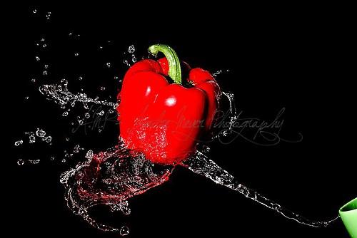 Paprika Splash - rot - 2