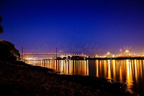 Hamburg - Köhlbrandbrücke