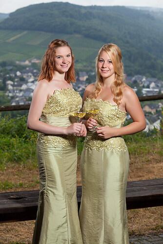 Weinprinzessinnen Silke & Karina