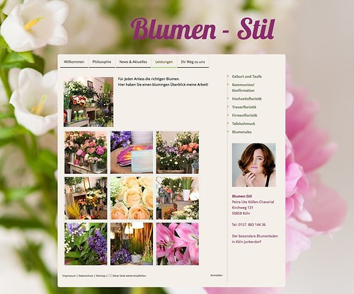 Blumen Stil 2