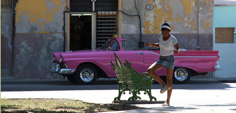 Girl at Placa de Armas (Havanna, Kuba, 2011) #4172