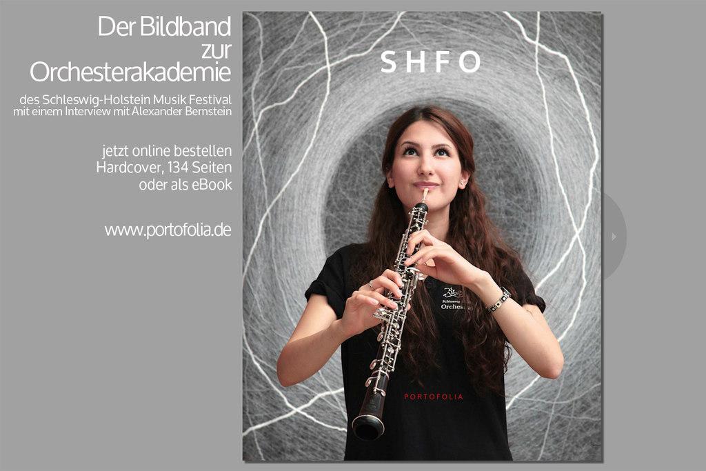 SHFO-Bildband Schleswig-Holstein Musik Festival