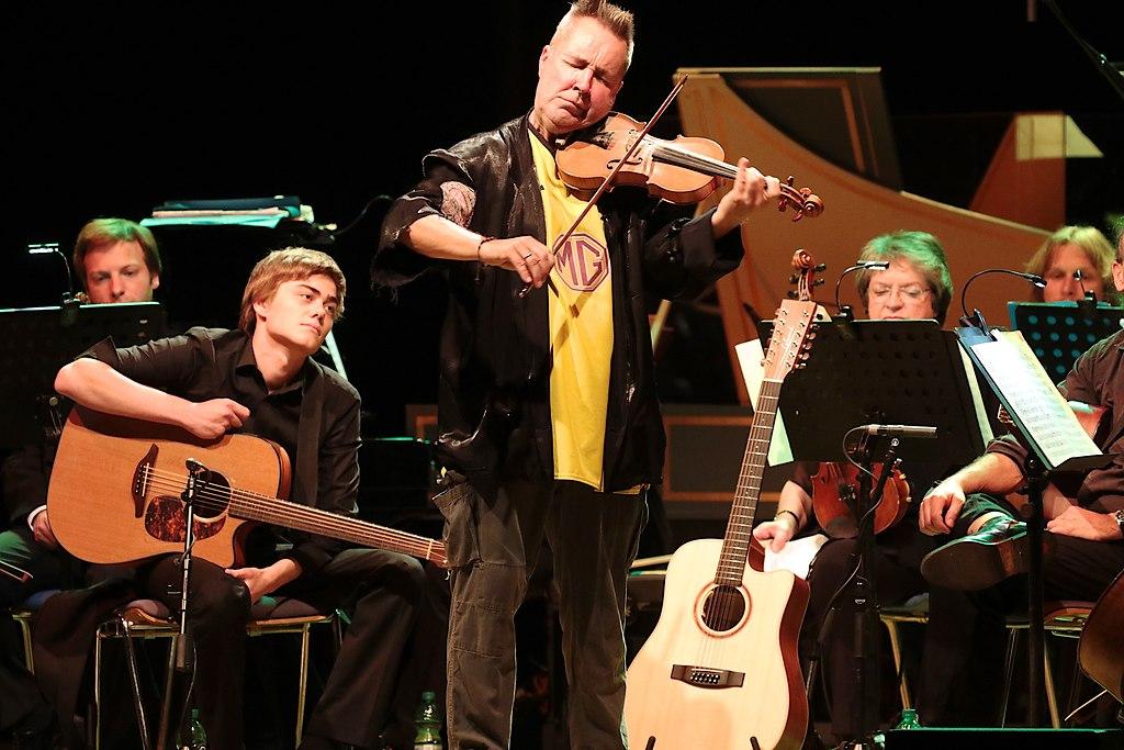 Nigel Kennedy  (IMG_0397_fotonick_2016_3) | Nigel Kennedy Violine und LeitungRussische KammerphilharmonieSt. Petersburg-Foto Axel Nickolaus