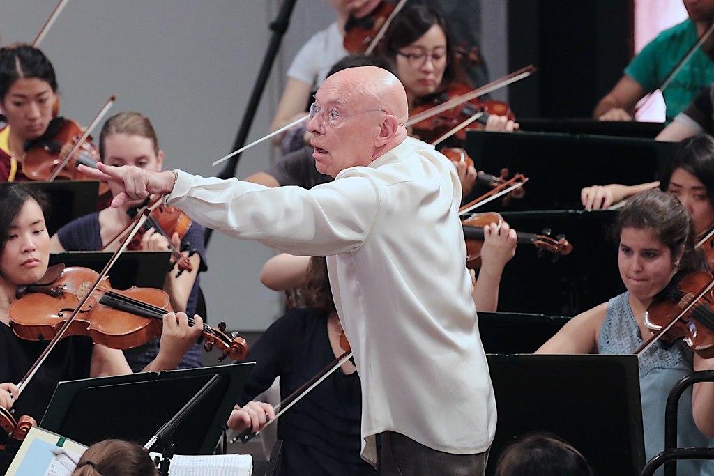 Eschenbach probt (IMG_0982_fotonick_2016_44) | Orchesterakademie Proben mit Christoph Eschenbach-Foto Axel Nickolaus