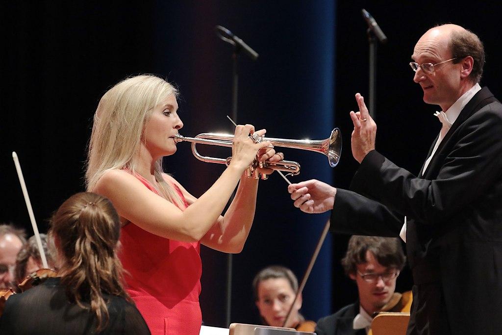 Alison Balsom (IMG_1303_fotonick_2016_19) | Alison Balsom TrompeteMari Eriksmoen SopranNDR RadiophilharmonieAndrew Manze Dirigent-Foto...