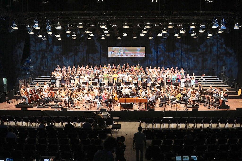 Joseph Haydn:Die Schöpfung (IMG_1750_fotonick_2016_1) | Proben zum Abschlusskonzert_NDR Elbphilharmonie OrchesterSir Roger Norrington DirigentJoseph...