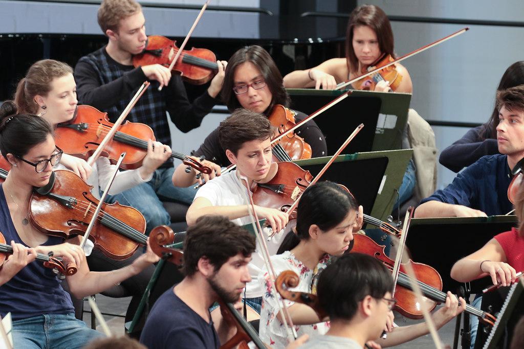 Eschenbach Proben (fotonick-AN-6772) | Orchesterproben mit Christoph Eschenbach und dem SHFO-Foto Axel Nickolaus | fotonick Kiel, nick Kiel