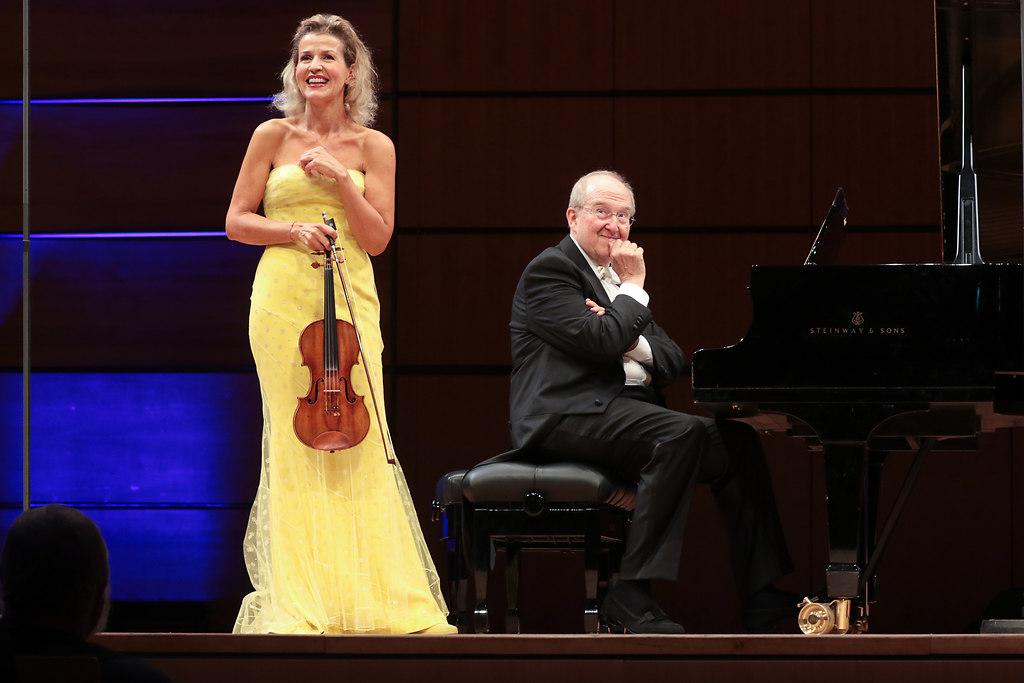 Anne-SophieMutter (fotonick-AN-8244) | Anne-Sophie Mutter ViolineLambert Orkis Klavier-Foto Axel Nickolaus | fotonick Kiel