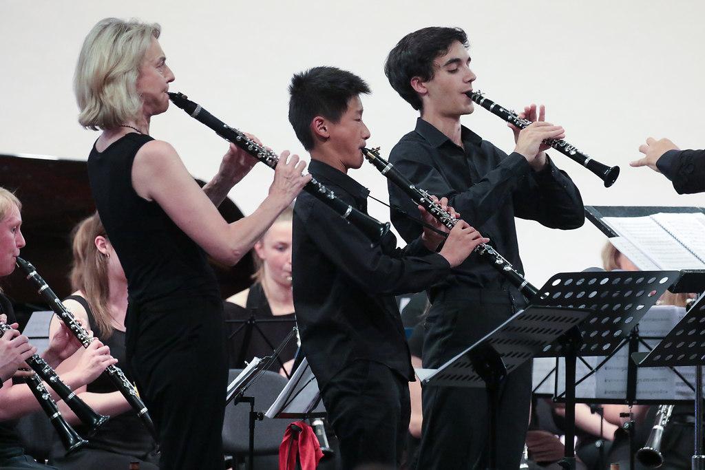 Celebrating the Clarinet (fotonick--1054) | Sabine Meyer KlarinetteReiner Wehle KlarinetteÁkos Ho mann und Jörg Peltzer Klarinette und... | fotonick Kiel