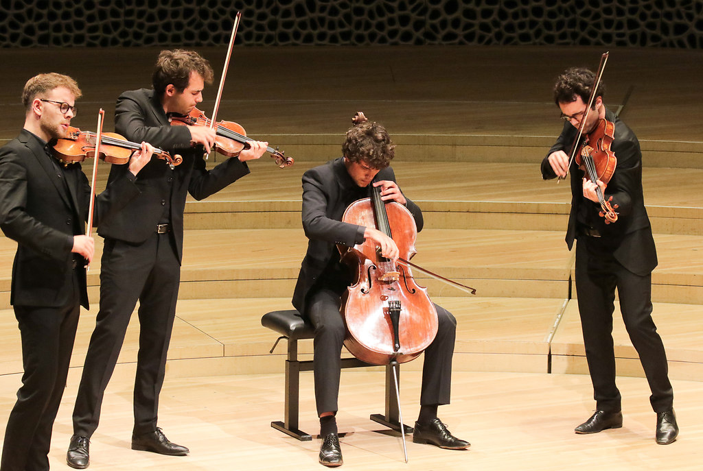vision string quartet (fotonick--2821) | vision string quartet-Foto Axel Nickolaus | fotonick Kiel