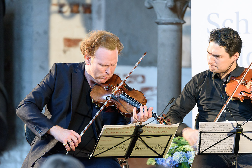 Das Lübeck-Musikfest – Abendstunde SHMF 2018 K98 (fotonick_EN_DSC8356) | Daniel Hope, Violine; CarlaMaria Rodrigues, Viola; Josephine Knight, Violoncello; Schumann...