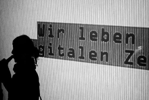 Wir leben gitalen Ze, Berlin, 2009