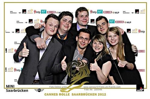 Greenbox Foto Event Druck bei  der  Cannes Rolle in Saarbrücken