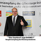 Neujahrsempfang der Ministerpräsidentin 2013, Das Saarland sagt Danke, Annegret Kramp Karr
