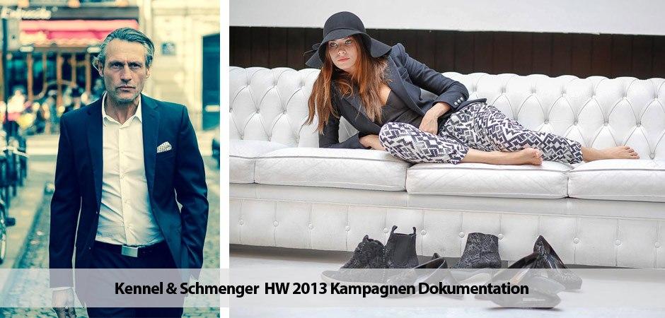 Kennel & Schmenger  HW 2013 Kampagne Dokumentation