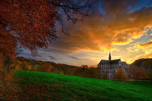 Altenburger Dom im Herbst