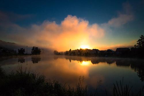 Morgens in Kalmünz