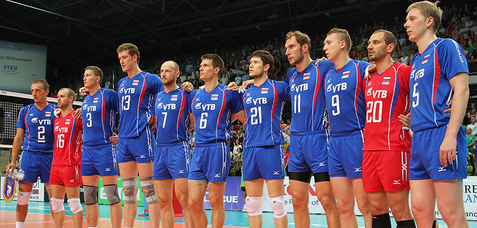 World League GER-RUS 05.07.2013 (titel_73_russia_national-anthem_foto-detlef-gottwald)