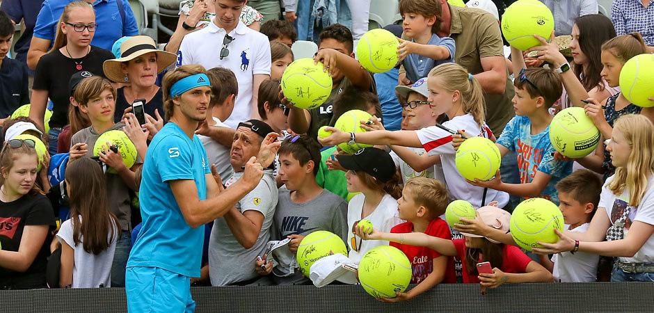 K03_0759-2 | MercedesCup ATP250 | Stuttgart. TC Weissenhof | 09.06.2019 | Training Alexander Zverev | Foto:...