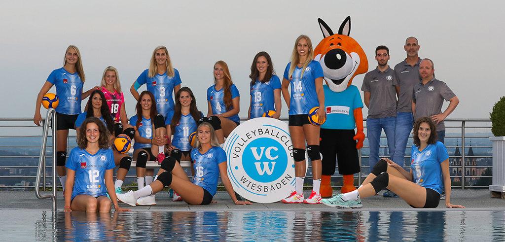 VC Wiesbaden Saison 2019-2020 Foto Detlef Gottwald | VC Wiesbaden | 1. Volleyball-Bundesliga | Saison 2019-2020 | www.vc-wiesbaden.de | Foto: Detlef...