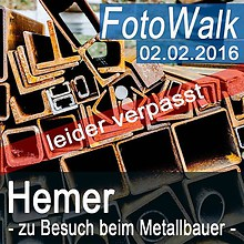 2016-02-02 Metallbauer leider verpasst